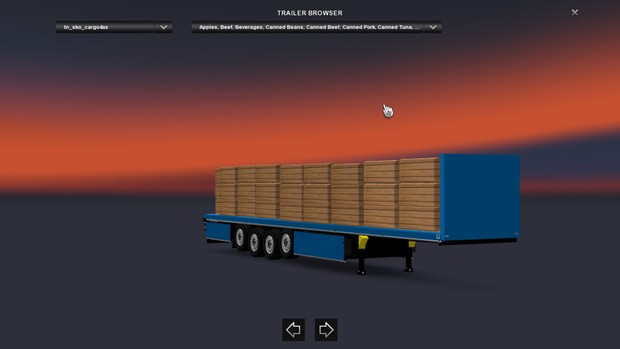 4 Axled Potato Box trailer