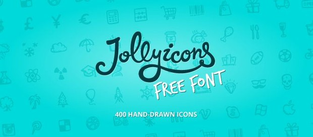 Jolly Icons Free Font