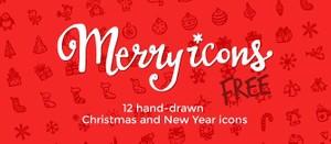 Merry Icons Free