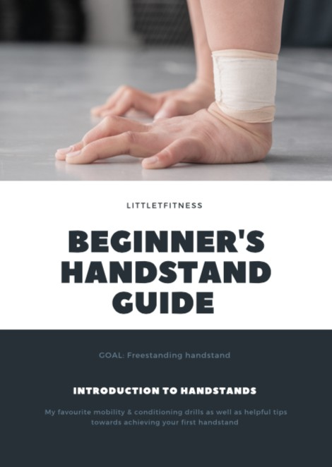Beginner Handstand Guide & Press to Handstand Guide