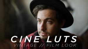 Cine LUT Pack // Vintage + Filmic