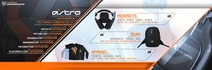 Astro Gaming Header PSD