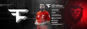 FaZe Temperrr Header PSD (Editable)