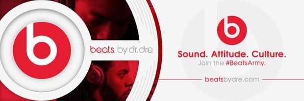 Beats By Dre Header PSD (Editable)