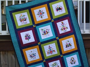 Setting Memories Quilt Pattern