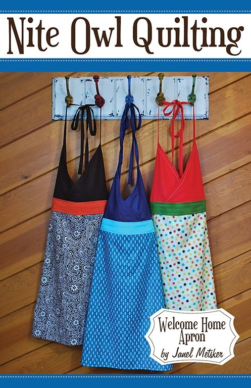 Welcome Home Apron Pattern