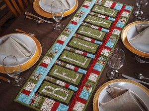 Believe Table Runner Pattern