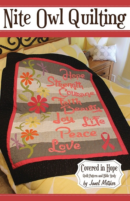 Covered in Hope Quilt Pattern and Bible Study