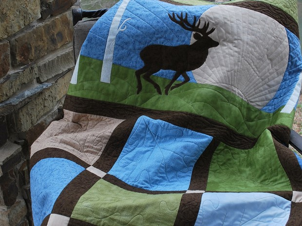 Sunrise Stag Quilt Pattern