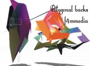 polygonal backs