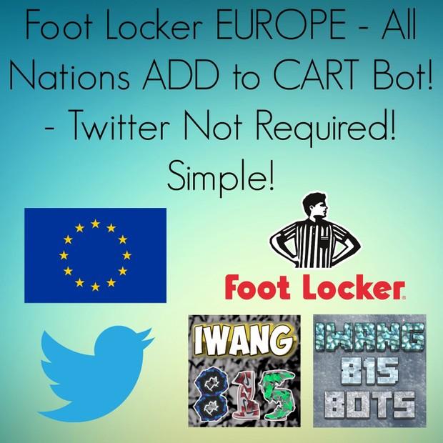 iWang815 FootLocker Europe Bot