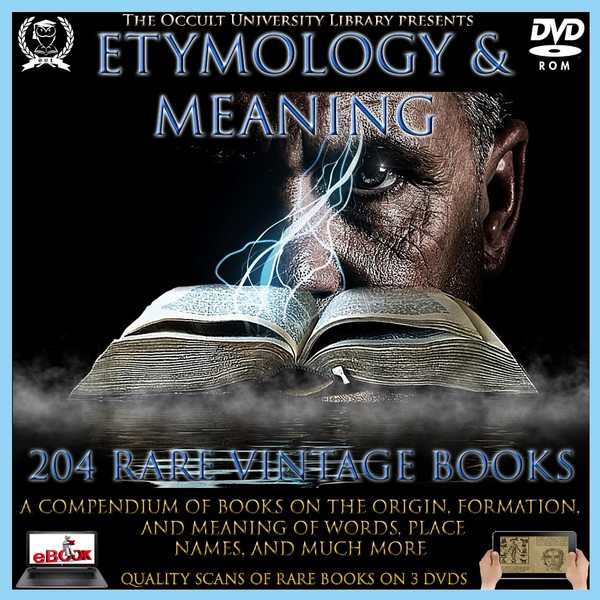 Etymology & Meaning Disc 1