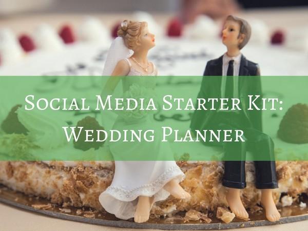 Social Media Starter Kit - Wedding Planner