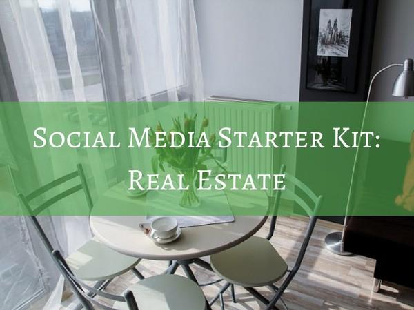 Social Media Starter Kit - Real Estate