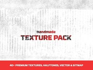 40+ Handmade textures pack
