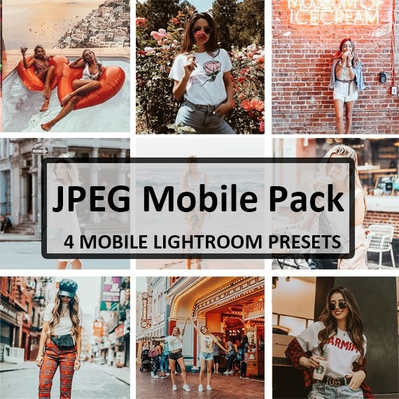 JPEG Mobile Preset Pack (Mobile)