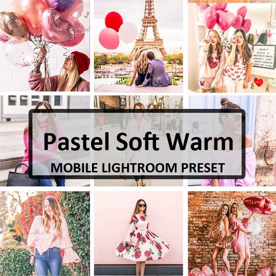Pastel Soft Warm Mobile Preset