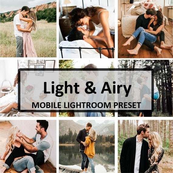 Light & Airy Mobile Preset