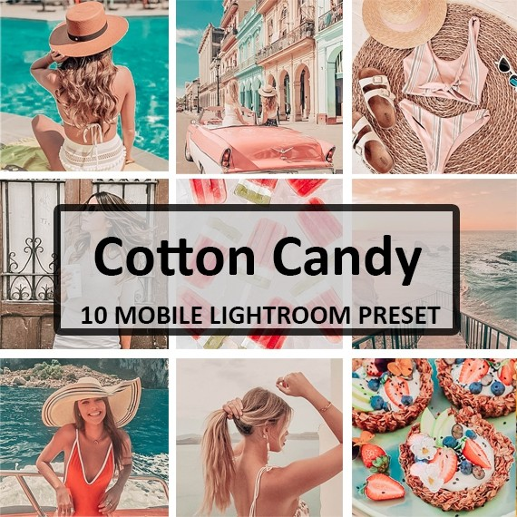 Cotton Candy Preset Pack (Mobile)