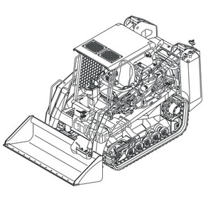 GEHL CTL55 Compact Track Loader Parts Manual