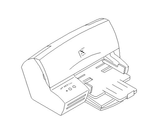 Xerox DocuPrint C15 / C11 Color Inkjet Printer Service Repair Manual