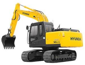 HYUNDAI R160LC-7A CRAWLER EXCAVATOR SERVICE REPAIR MANUAL
