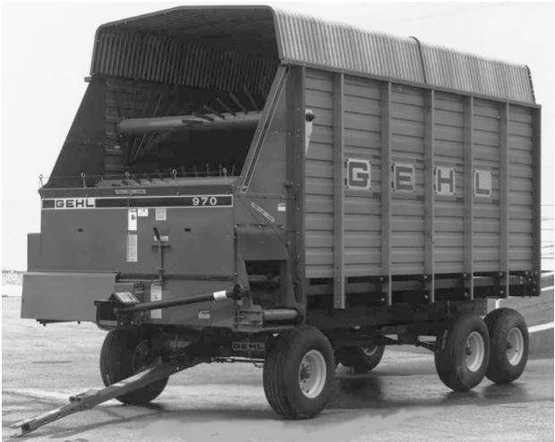 GEHL 970 Forage Box Parts Manual