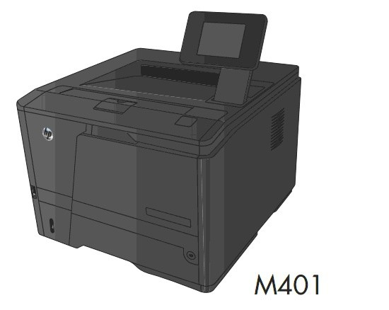 HP LaserJet Pro 400 M401 Printer Series Service Repair Manual