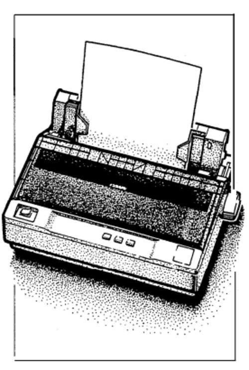Epson LQ-300 Terminal Printer Service Repair Manual