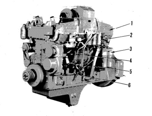 KOMATSU 6D170-1 SERIES DIESEL ENGINE SERVICE REPAIR MANUAL