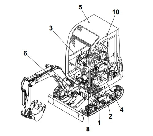takeuchi tb 135 service manual ebook 1956 Buick Convertible repair manual covers 2 generalspecificationsmachine configurationhydraulic unitstroubleshootingengineinspection array takeuchi tb135 pact excavator