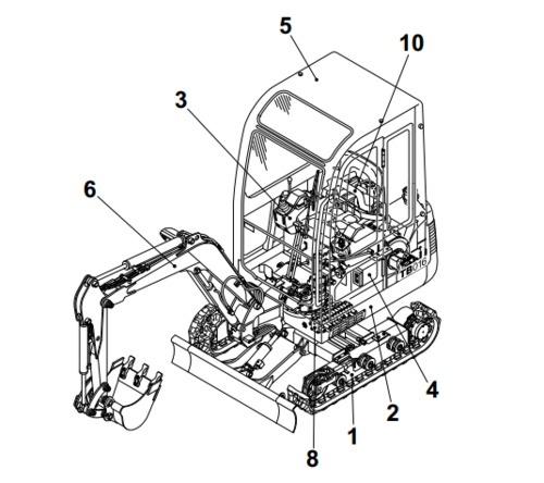 takeuchi tb135 compact excavator parts manual rh sellfy com takeuchi tb125 service manual takeuchi tb135 service manual download