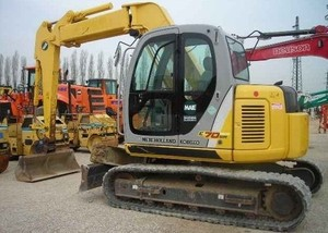 New Holland E70SR Midi Crawler Excavator Service Repair Manual