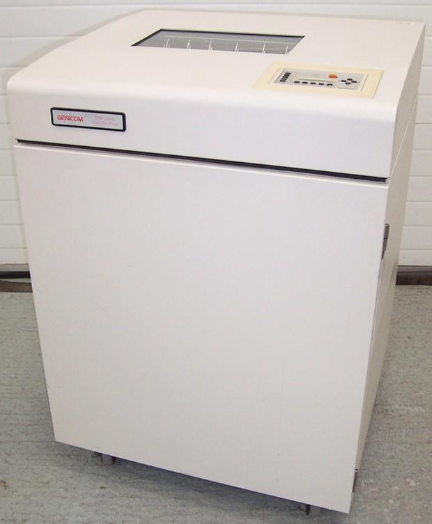 Genicom 5000 Series (5050/5100/5180) line printer Service Repair Manual