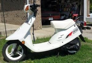 YAMAHA CE50T, CG50A, CG50U, CG50W MOTORCYCLE SERVICE REPAIR MANUAL 1987-1990 DOWNLOAD