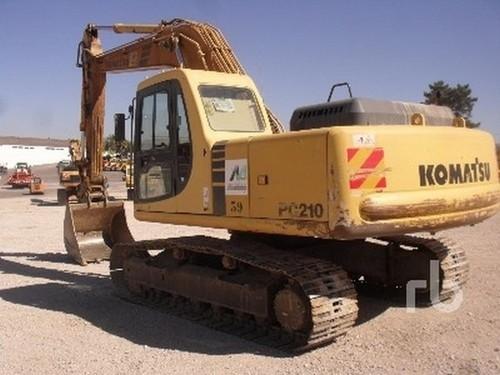 KOMATSU PC210-6K, PC210LC-6K, PC240LC-6K, PC240NLC-6K HYDRAULIC EXCAVATOR SERVICE REPAIR MANUAL