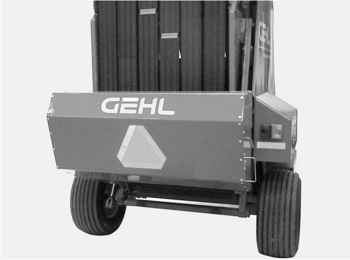Service Manual for Gehl 2500