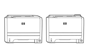 HP LaserJet P2050 , P2030 Series Printers Service Repair Manual