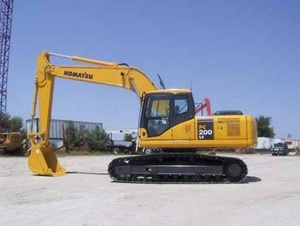 KOMATSU PC200-7, PC200LC-7, PC220-7, PC220LC-7 EXCAVATOR SHOP MANUAL+OPERATION & MAINTENANCE MANUAL
