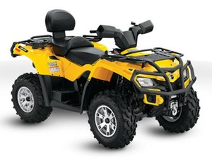 2004 Bombardier Quest Traxter DS650 Outlander Rally ATV Service Repair Manual