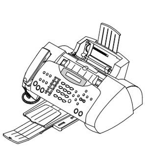 Samsung FACSIMILE SF-430 Service Repair Manual