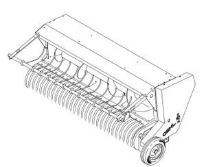 GEHL HA1210 Hay Attachment Parts Manual
