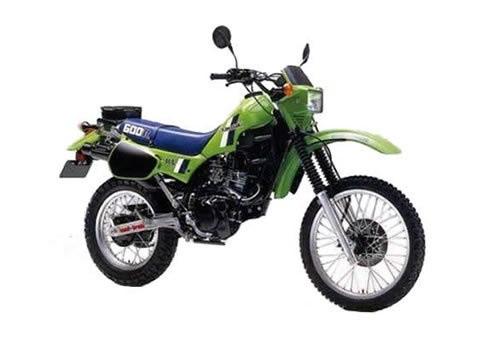 1984 KAWASAKI KLR600 (KL600-A1) MOTORCYCLE SERVICE REPAIR MANUAL DOWNLOAD