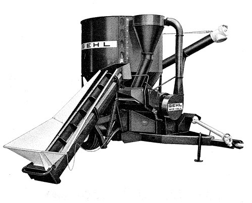 GEHL 115MX MIX-All Feedmaker With Attachments Parts Manual