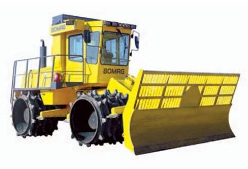 BOMAG Sanitary landfill compactor BC 672 RB / BC 772 RB SERVICE REPAIR MANUAL