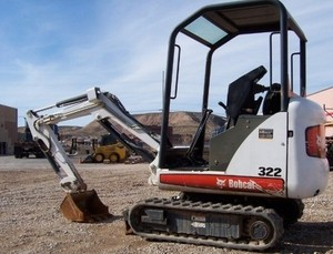 BOBCAT 320, 320L, 322 EXCAVATOR SERVICE REPAIR MANUAL