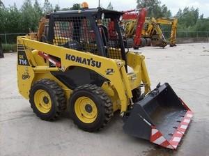 KOMATSU SK714-5, SK815-5, SK815-5 Turbo SKID-STEER LOADER SHOP MANUAL+OPERATION & MAINTENANCE MANUAL