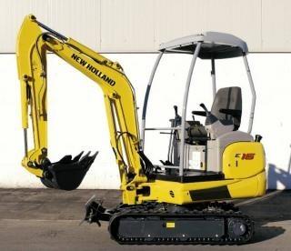 New Holland E16, E18 Mini Crawler Excavator Service Repair Manual