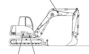 GEHL 253 Compact Excavator Parts Manual