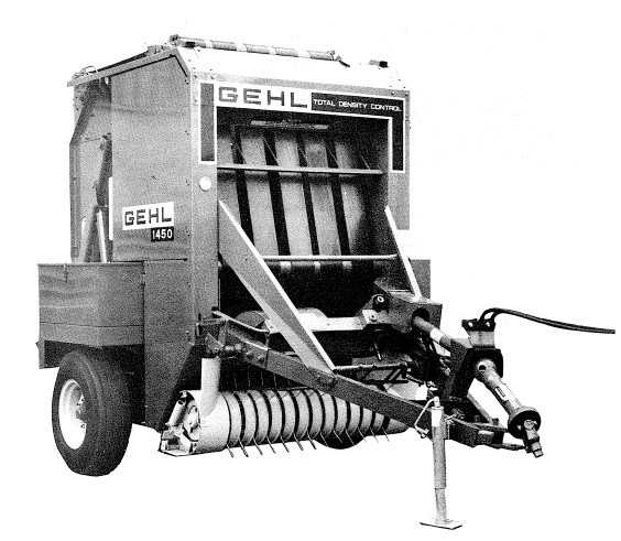 GEHL RB1450 Baler Parts Manual